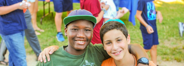 Boy campers